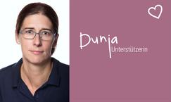 Lila Hoffnung Darmkrebshilfe CED Ehrenamtliche Dunja