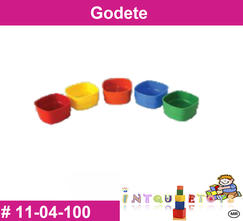 Godete MATERIAL DIDACTICO PLASTICO INTQUIETOYS PRIMERDI