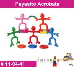 Payasito acrobata MATERIAL DIDACTICO PLASTICO INTQUIETOYS PRIMERDI