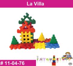 La villa MATERIAL DIDACTICO PLASTICO INTQUIETOYS PRIMERDI