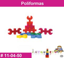 Poliformas MATERIAL DIDACTICO PLASTICO INTQUIETOYS PRIMERDI