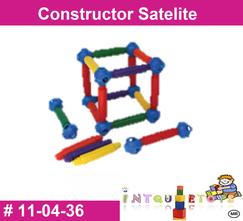 Constructor satelite MATERIAL DIDACTICO PLASTICO INTQUIETOYS PRIMERDI