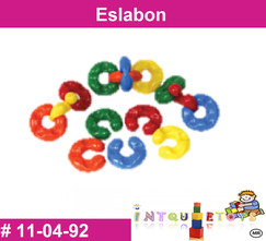 Eslabon MATERIAL DIDACTICO PLASTICO INTQUIETOYS PRIMERDI