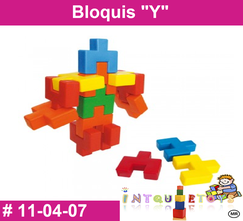 Bloquis Y MATERIAL DIDACTICO PLASTICO INTQUIETOYS PRIMERDI