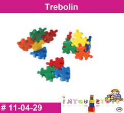 Trebolin MATERIAL DIDACTICO PLASTICO INTQUIETOYS PRIMERDI
