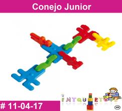 Conejo Junior MATERIAL DIDACTICO PLASTICO INTQUIETOYS PRIMERDI