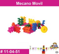 Mecano movil MATERIAL DIDACTICO PLASTICO INTQUIETOYS PRIMERDI