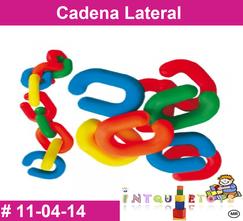 Cadena Lateral MATERIAL DIDACTICO PLASTICO INTQUIETOYS PRIMERDI