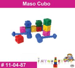 Maso cubo MATERIAL DIDACTICO PLASTICO INTQUIETOYS PRIMERDI