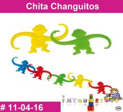 Chita Changuitos MATERIAL DIDACTICO PLASTICO INTQUIETOYS PRIMERDI