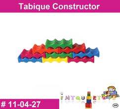 Tabique constructor MATERIAL DIDACTICO PLASTICO INTQUIETOYS PRIMERDI