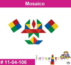 Mosaico MATERIAL DIDACTICO PLASTICO INTQUIETOYS PRIMERDI