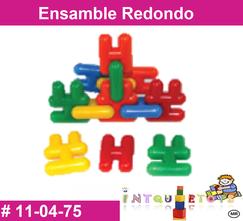 Ensamble redondo MATERIAL DIDACTICO PLASTICO INTQUIETOYS PRIMERDI