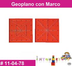 Geopmano con marco MATERIAL DIDACTICO PLASTICO INTQUIETOYS PRIMERDI