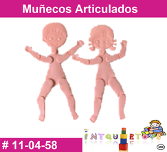 muñecos articulados material didactico de plastico primerdi intquietoys