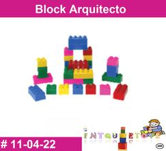 Block arquitecto MATERIAL DIDACTICO PLASTICO INTQUIETOYS PRIMERDI