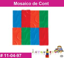 Mosaico de cont MATERIAL DIDACTICO PLASTICO INTQUIETOYS PRIMERDI