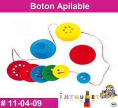Boton Apilable MATERIAL DIDACTICO PLASTICO INTQUIETOYS PRIMERDI