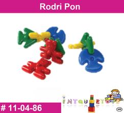 Rodri pon MATERIAL DIDACTICO PLASTICO INTQUIETOYS PRIMERDI
