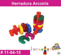 Herradura Arcoiris MATERIAL DIDACTICO PLASTICO INTQUIETOYS PRIMERDI