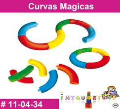 Curvas Magicas MATERIAL DIDACTICO PLASTICO INTQUIETOYS PRIMERDI