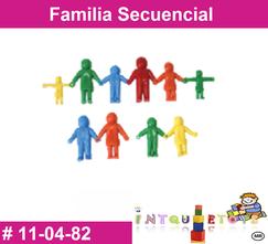 Familia secuencial MATERIAL DIDACTICO PLASTICO INTQUIETOYS PRIMERDI