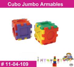 Cubo jumbo armables MATERIAL DIDACTICO PLASTICO INTQUIETOYS PRIMERDI