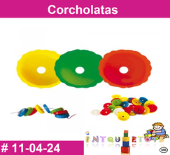 Corcholatas MATERIAL DIDACTICO PLASTICO INTQUIETOYS PRIMERDI