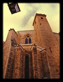 Ábside gótico del templo del Salvador -Burriana, Comunidad Valenciana, España-