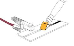 Decapaggio con tampone elettrodecapaggio WE KEM