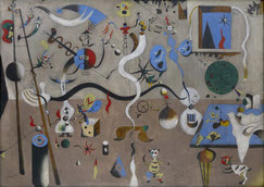 Joan Miró, Karneval des Harlekins, 1924/5, Öl auf Leinwand, 66 × 90,5 cm. © Successió Miró S.L. / Artists Rights Society (ARS), New York / ADAGP, Paris.