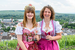 Alexandra und Ayla (Lindenfest 2016)