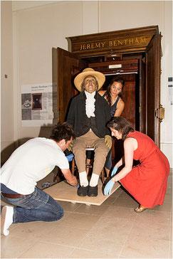 Momie de Jérémy Bentham