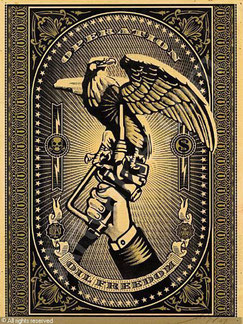 Shepard Fairey Operation Oil Freedom