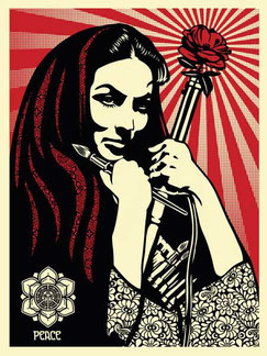 Shepard Fairey Revolutionary Woman