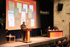 Богдановский Н.В., генерал-полковник, выступление на конференции к 120-летию рождения А.М.Василевского