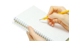 toma notas de los compromisos adquiridos - AorganiZarte.com
