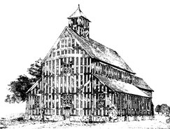 The medieval wooden chapel c1450