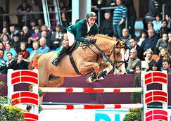 der Sieger Jaroslaw Skrzcynski mit Crazy Quick (Foto Andreas Pantel)