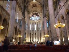 Барселона. Церковь Марии дель Мар
