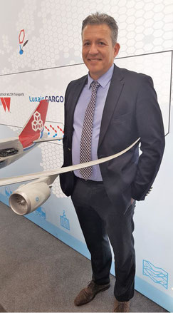 """The trade show was worth participating,"" concluded Cargolux's Global Product Manager Healthcare + Perishables, Stavros Evangelakakis"