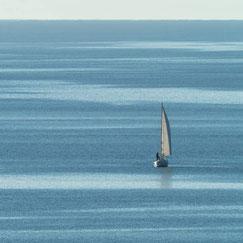 Segelschiff auf dem Bodensee