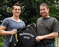 Christian Auer (rechts) übergibt zur neuen Saison das Traineramt an Florian Schinn (links)