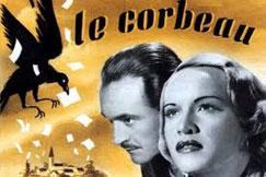 """Affiche pour le film """"le corbeau"""""""