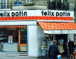 Félix Potin, une enseigne disparue en 1995 (Goulet Turpin avait disparu en 1979)