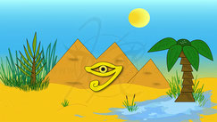 Ägyptische Oase