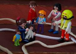 Familienstellen mit Figuren