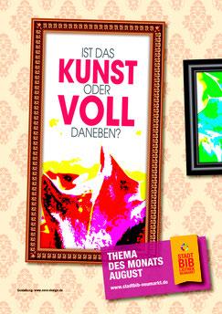 Themenausstellung der Stadtbibliothek Neumarkt im August 2017