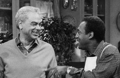 In the Cosby show we were expected to buy that Heathcliff was Russell's son!