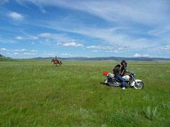 steppes mongoles - voyage Mongolie - voyage transsibérien